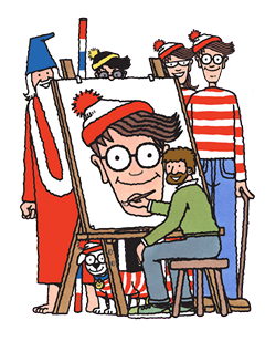 MartinHandfordWally&FriendsWhere's Wally? by wikipedia