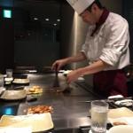 新神戸「北野」(ANAクラウンプラザホテル神戸)にて神戸牛初体験