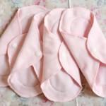 ネル生地とロックミシンで作るはじめての手作り布ナプキン・布ライナー