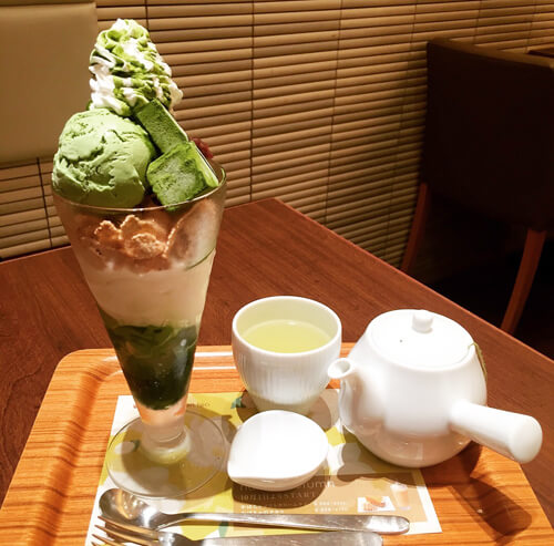 nana's green teaたまプラーザ