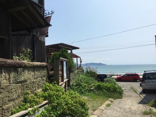 長谷のカフェ