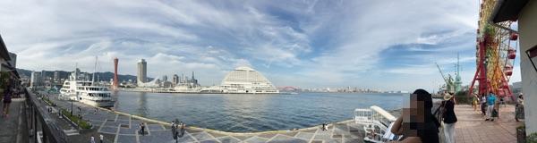 神戸港景色画像