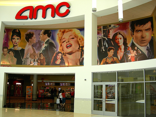 AMC 14 in Chesterfield Mall - Entrance