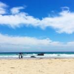 関東近所のプチハワイ。青い海と白い砂浜で癒される入田浜海水浴場  伊豆下田