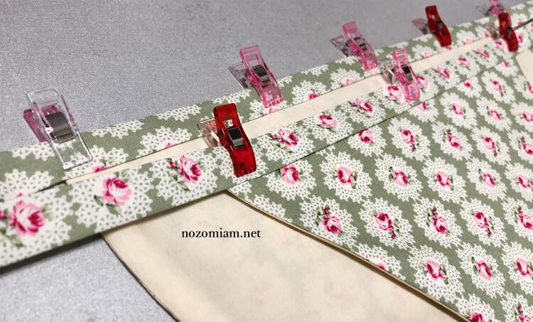 nozomiam 姫風ふんどしパンツの作り方 はごろもショーツ