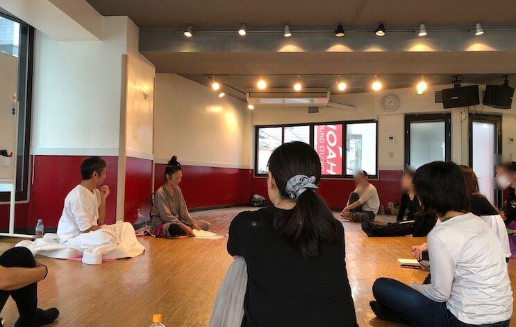 旋回瞑想会@都立大学 須藤昇さん姫川キキさん