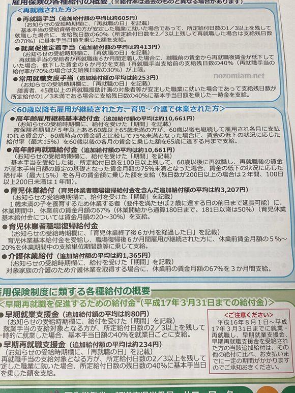 10万円の特別定額給付金に続いて雇用保険の追加給付のお知らせが来たよ